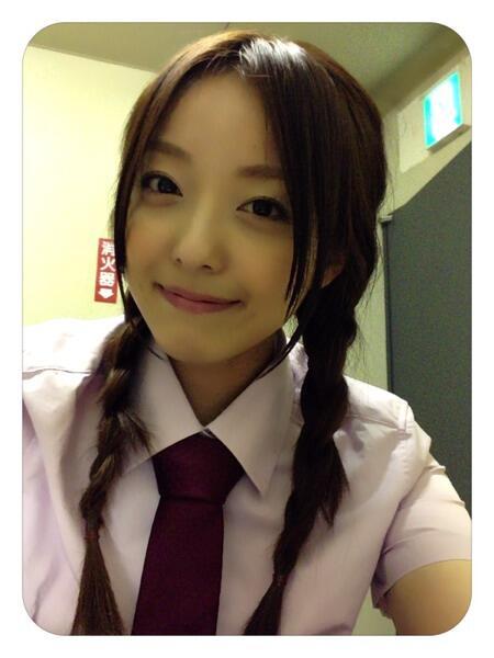 髪のアクセサリーが素敵な加藤英美里さん